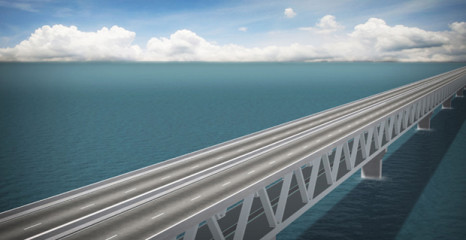 The proposed Padma bridge/Star file photo