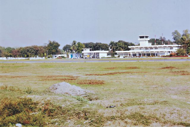 Syedpur Airport and runway constructed by Bengalis who were forced to provide labor in 1971. Photo: Lt. Col. (Retd.) Quazi Sajjad Ali Zahir, Bir Protik