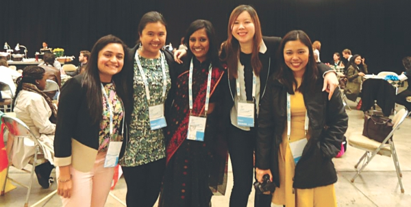 Members of One Young World Summit 2012 in Pittsburgh. Photo: Courtesy