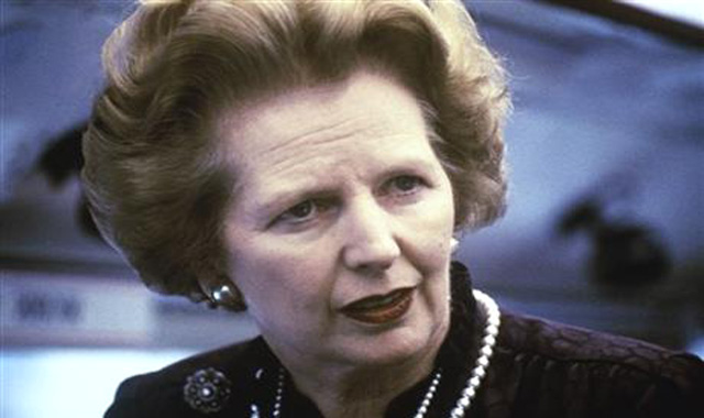 Margaret Thatcher in 1969. AP file photo