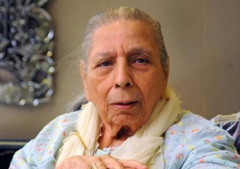 Shamshad Begum. Photo: Internet