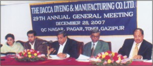 the dacca dyeing & manufacturing co.ltd annual report 2016