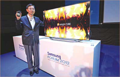 Samsung pushes boundaries of innovations   The Daily Star