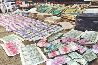 Fake currency 'factory' busted | The Daily Star