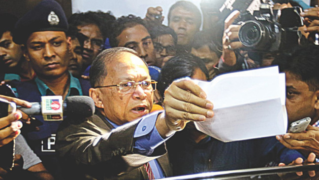 Bangladesh Chief Justice faces 11 charges, including graft
