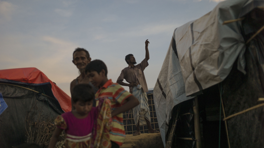 Locating the Rohingya in time and space