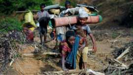 No place to hide: Life (and death) of Rohingya children