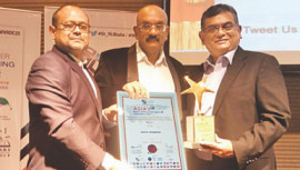 Second treble for aamra companies