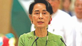 Suu Kyi sets out aid plan to end Rohingya crisis
