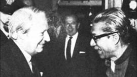 In London the then British Prime Minister Edward Heath received Bangabandhu in 10 Downing Street when he accorded Bangabandhu the honour of a visiting head of state.
