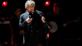 Nobel laureate Bob Dylan