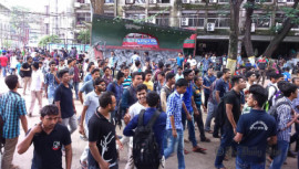 Students at Jagannath University