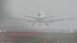 Flights, ferries disrupted in fog