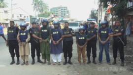 Gazipur, Bangladesh, Rapid Action Battalion, Jama'atul Mujahideen Bangladesh, JMB, militants, militancy, terrorism,