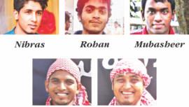 Gulshan Attackers, militants