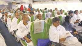 Hajj flights
