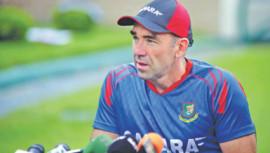 Bangladesh assistant coach Richard Halsall
