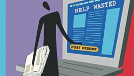 Hoodwinking gullible jobseekers