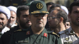 Head of Iran's Revolutionary guards