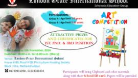 London Grace International School art competition on November 5