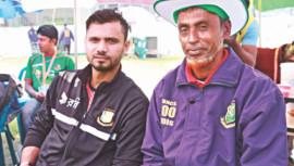 Bangladesh ODI captain Mashrafe Bin Mortaza