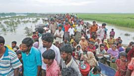 Mayanmar Rohingya refugee crisis