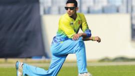 Bangladesh cricketer Nasir Hossain.