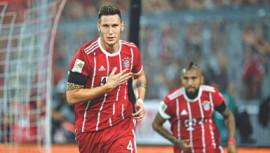 Video ref landmark as Bayern win