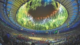 colorful closing ceremony, rio olympics 2016