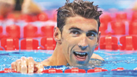 American swimming legend, Michael Phelps