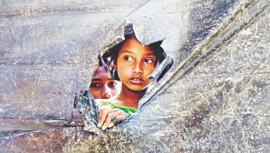 Shamble state of Rohingya children