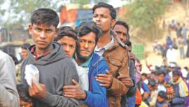 Balukhali camp, Rohingya refugees, Myanmar