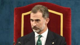 Spain King Felipe,