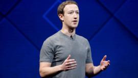 Facebook's chief executive and co-founder Mark Zuckerberg