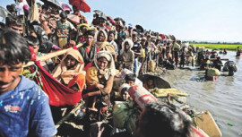 Rohingyas from Myanmar