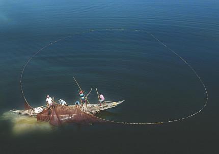Fishing in Black water....