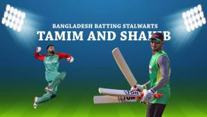 [WATCH] Bangladesh Batting Stalwarts – Tamim and Shakib