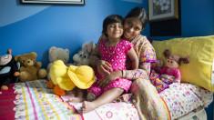 Bangladeshi girl with three legs 'walks, runs'