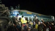 32 killed as train derails in India's Andhra Pradesh