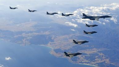 US Air Force B-1B bomber