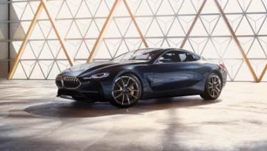 BMW reveals Series 8 concept car