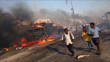 Car bombs kill 22 in Somalia
