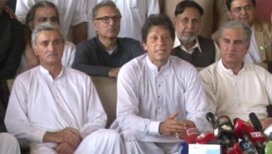 PTI chief Imran Khan