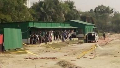 Ashkona suicide bomb blast
