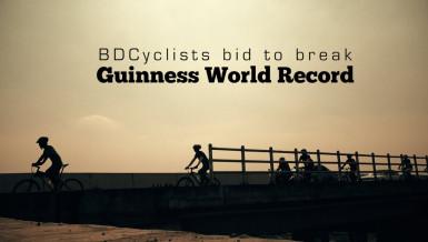 BDCyclists bid to break Guinness World Record