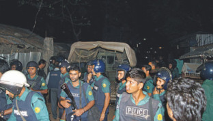 Police raid Sylhet den
