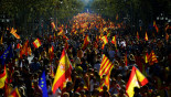 Huge crowd rally for 'independent' Catalonia