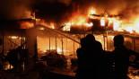 Karwan Bazar blaze tamed after 2 hours