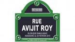 Watch: Paris street temporarily 'renamed' after blogger Avijit
