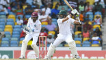 WI claim late wickets as Pak close on 172-3